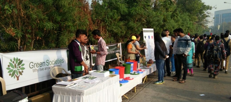 "Waste Management Awareness Drive at ""Malad Masti"""