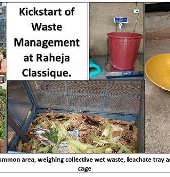 Kickstart of Waste Management at Raheja Classique