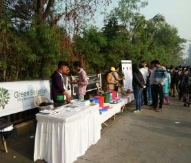 "Waste Management Awareness Drive at ""Malad Masti"""