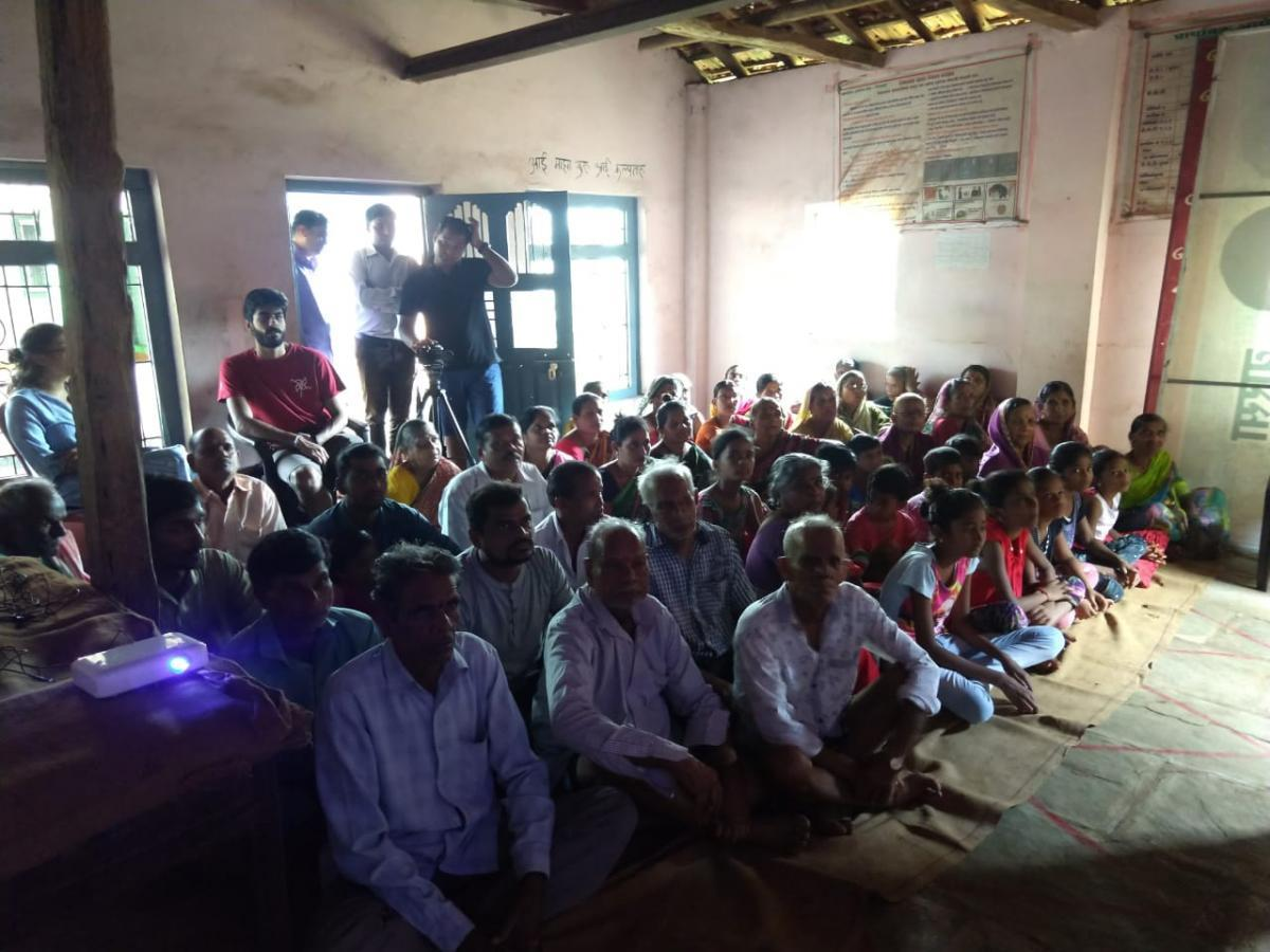 Resident awareness workshop at village