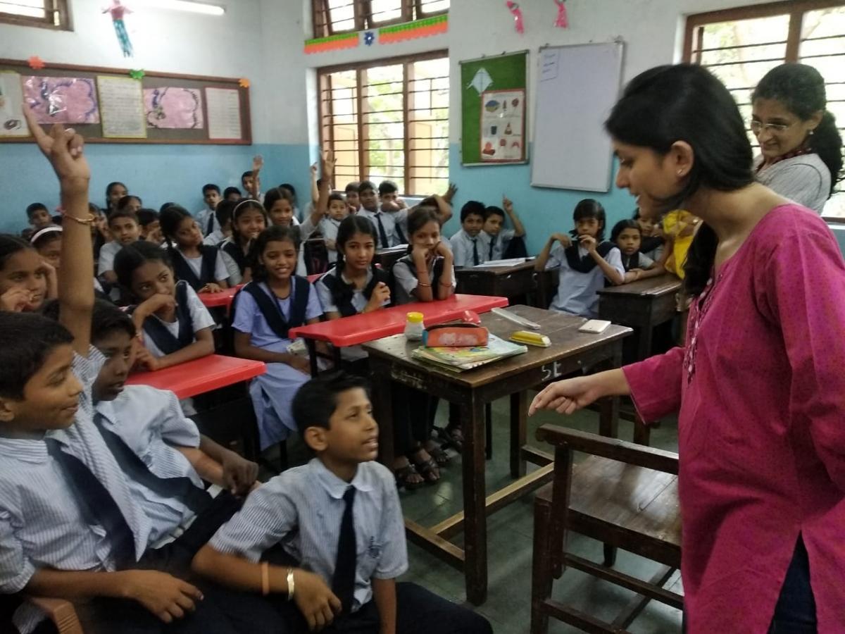 Sensitizing children about waste management2