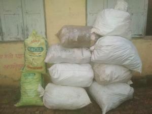 Dry waste storage